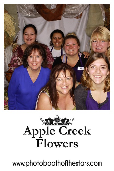 "Apple Creek Flowers ""Wine Walk Photo Booth 2018"""