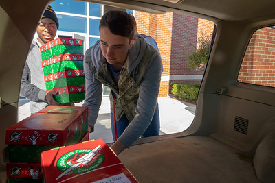 Operation Christmas Child Packing