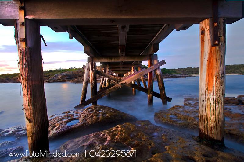 Under the bridge of La Perouse