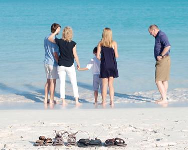 Bradley Family, Exuma Bahamas Vacation Photo Shoot.