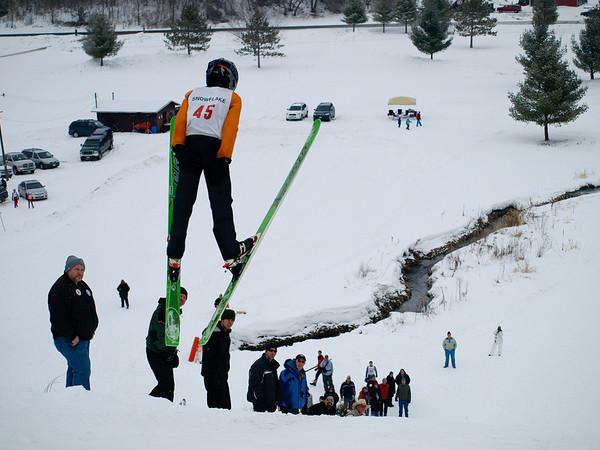 Junior ski tournament - Alex Olson