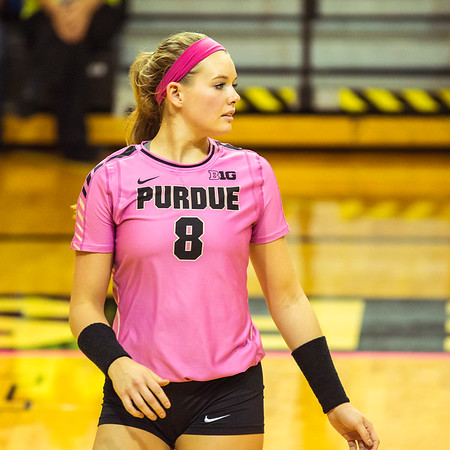 Purdue Volleyball vs Northwestern 2015-10-23