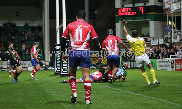 Northampton Saints vs Montpellier, European Challenge Cup, Franklin's Gardens, 18 October 2008
