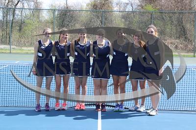 Women's Tennis Team Photos (04/28/17)