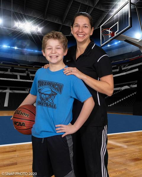2020 TYA Basketball Coach-Player Shots