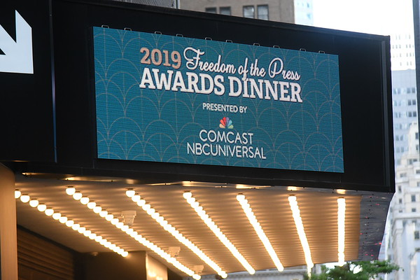 Reporters Committee 2019 Freedom of the Press Awards Dinner at the Ziegfield 5-7-19.  photos by  R.Cole & Rob Rich/SocietyAllure.com ©2019 robrich101@gmail.com 516-676-3939