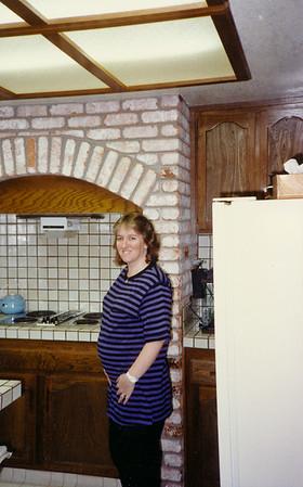 1990 Pregnant w Scott