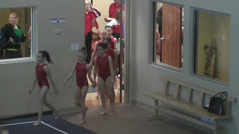 Gymnastics 2008 Meet #3
