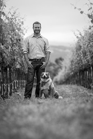 BW Portraits in Vineyard May 25, 2016