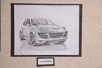 MS 7th Art Drawings 4-2-18