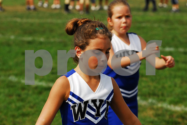 Wallkill Panther Stars vs Highland Falls Gold - Cheerleading - 9-14-08
