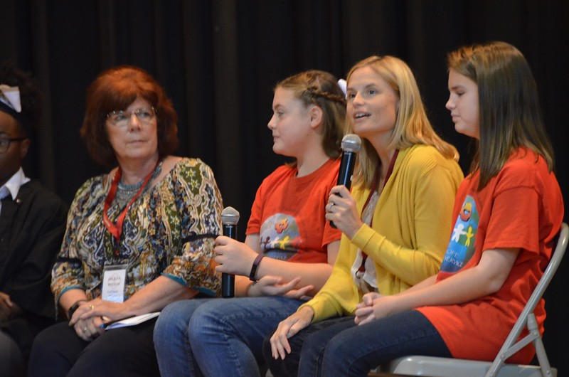 Bridget Martin, principal at Sacred Heart, talks about Schools in Collaboration.