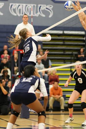 Vista Volleyball vs Pioneer 11-16-2010