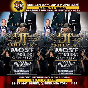 1-27-2019-QUEENS-Damion Thomas Birthday Bash