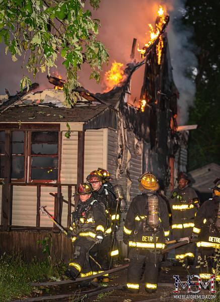 Detroit MI, House Fire 6-4-2021 #2