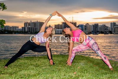 Fashion Portrait Yoga morning shoot - Workshop - May-21-2016 –Sarasota, Florida