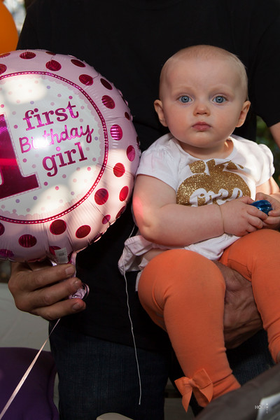 Mallory's 1st Birthday Party
