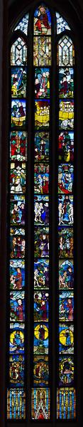 Frankfurt/Oder, St. Marien. Schöpfungsfenster nII