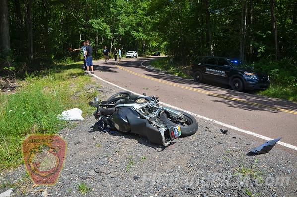 Schuylkill County - W. Mahanoy Twp. - Motorcylce Crash - 08/26/2016