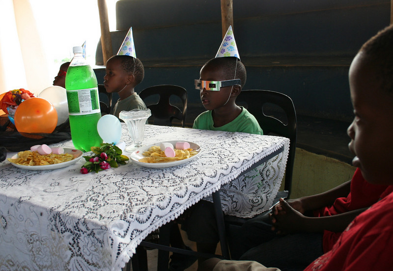 waiting for the cake.  dennilton, south africa