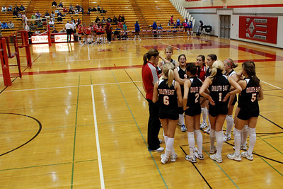 2009 10 20:  Duluth East Volleyball