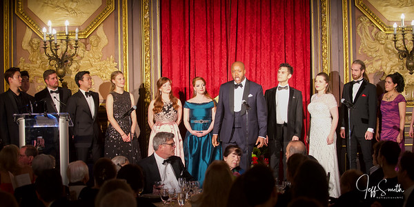 Career Bridges 17th Annual Opera Gala (Stage, Singers, & Venue)
