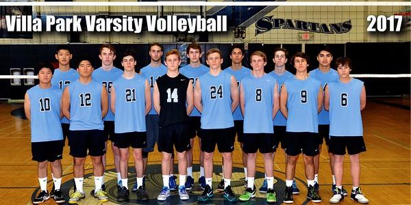 VP Varsity Mens Volleyball 2017
