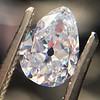 1.03ct Antqiue Pear Shape Diamond, GIA D VS1 3