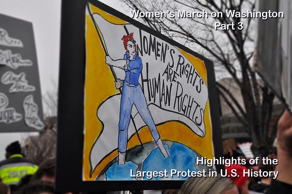 Women's March on Washington PART 3