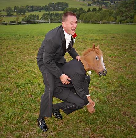 Groomsmen Wedding Photos - Comedy