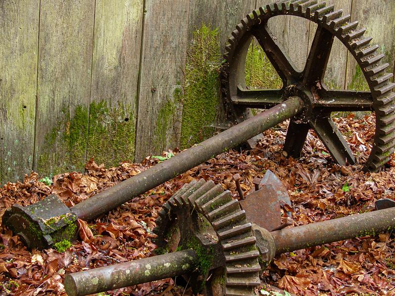 Gears, Bale Grist Mill State Historic Park, Saint Helena, California, 2007