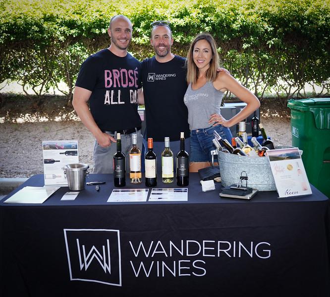 wandering Wines - Brandon McDougal, Adam Glasgow, Krystina Glasgow