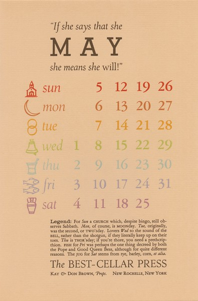 May, 1963, Best-Cellar Press