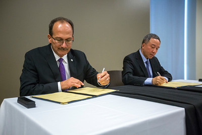 President Rodriguez MOU Signing with SWUFE