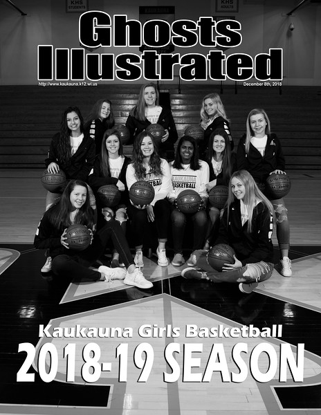2018 KHS Girls Basketball Covers