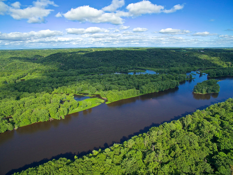 St. Croix River taken above William O'Brien State Park