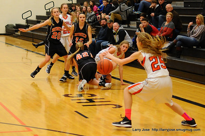 Jonesville vs Homer JV Girls Basketball