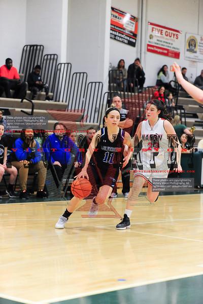 West Potomac vs. George Mason Girls Varsity Basketball 12-28-19 | Joe Cascio Boys & Girls Holiday Basketball Tournament