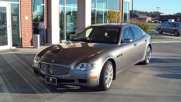 October 24, 2004:  Bentley Maserati of St. Louis .  .  .