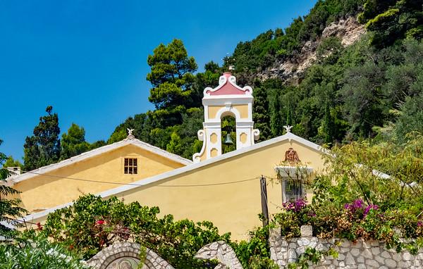 Pelekes, Island of Corfu, Greece