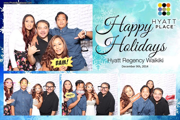 Hyatt Place Holiday Party 2015