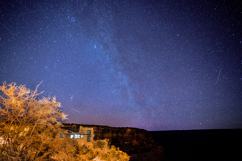 Grand Canyon Night Sky