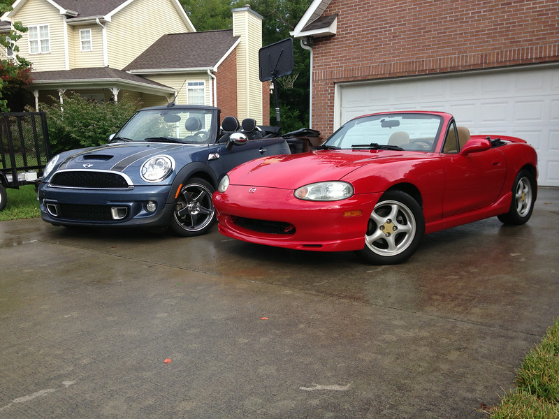 The Miata comes home