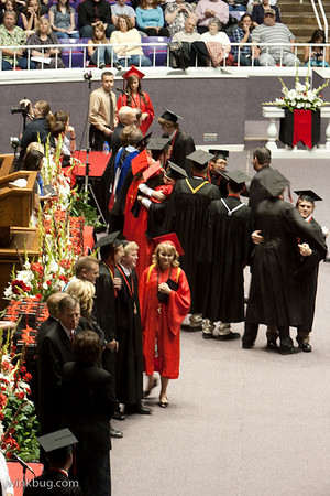 Weber High Graduation 2010