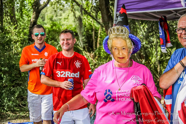 REGIMENT TAILGATE with RANGERS FC SUPPORTERS