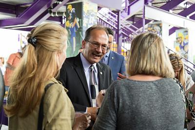President Rodriguez Campus Tour