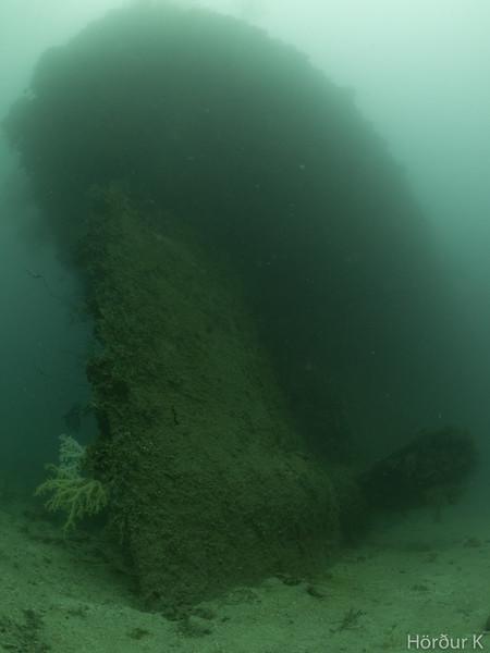 Stern of the Kensho Maru