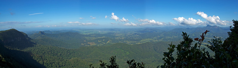 Panorama, Springbrook National Park - Queensland, Australia