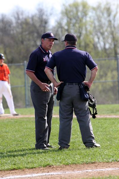 Milford JV baseball vs Loveland 4-10-17