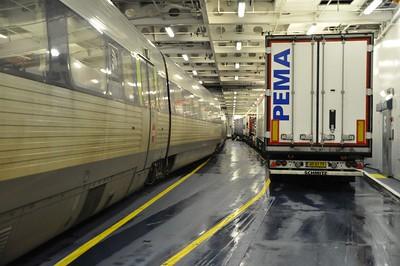 EU: Puttgarden / Rødby by Rail & Ferry. Tuesday 15th January 2019